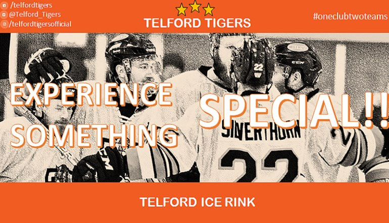 Telford Tigers 2 Fixtures 2017-18