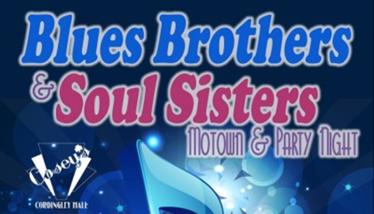 Blues Brothers and Soul Sisters Motown Night