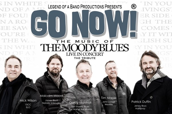 GO NOW! - Performing the music of The Moody Blues