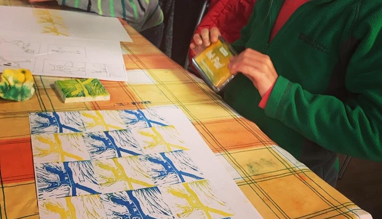 Family Friendly Printmaking with Amanda Hillier