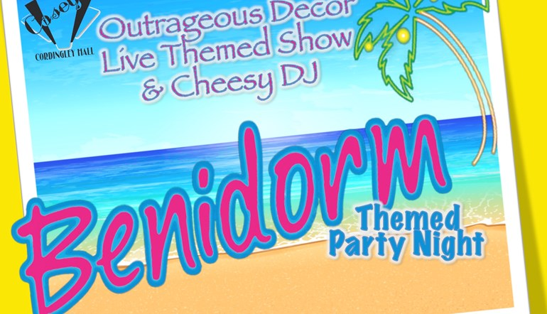Benidorm Themed Party Night