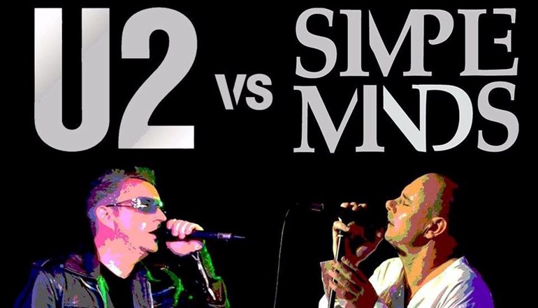 80s Night with U2 Vs Simple Minds