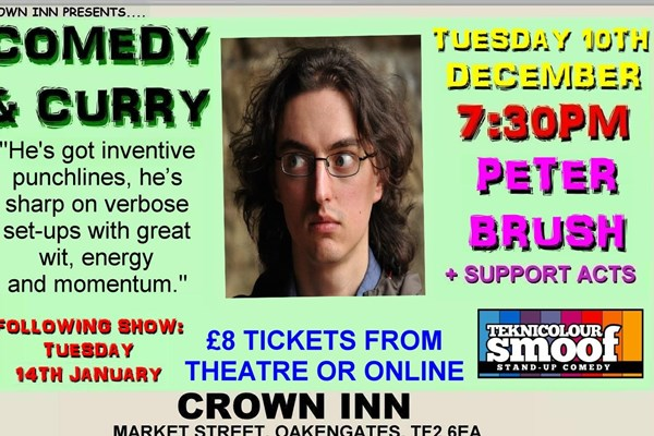 Telford Comedy Club with Peter Brush