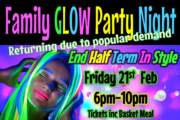 Family Glow Party Night