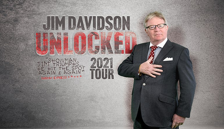 Jim Davidson - Unlocked 2021 Tour